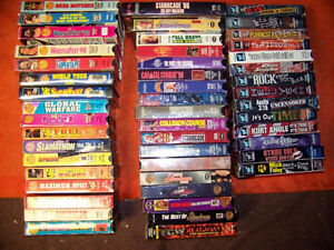 Looking for wcw wwf  wrestling vhs tapes