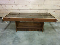 Glass Top Coffee Table - Delivery Available