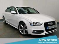2013 AUDI A4 2.0 TDI 150 S Line Multitronic Auto Leather Bluetooth 1 Owner