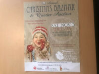 Christmas Bazaar & Quarter Auction