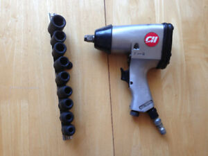 Impact sockets only , air wrench is sold