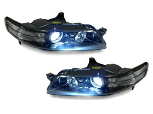 Type S Clear Corner Bi-Xenon HID Projector Headlight+D2S Bulb For 07-08 Acura TL