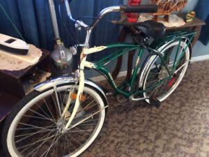 Supercycle Classic Cruiser Men's Comfort Bike, 26-in