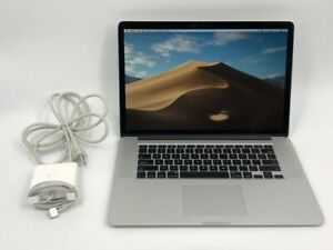 Macbook pro A1398 Late 2013  2GHz Intel Core i7 8GB, 256GB SSD