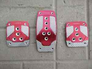 NRG Racing pedal covers  Stratford Kitchener Area image 1