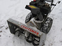 "10hp 30"" 2 stage Craftsman snowblower for sale"
