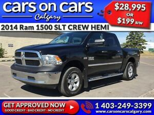 2014 Ram 1500 DODGE SLT CREW HEMI w/BackUp Cam, Running Boards,