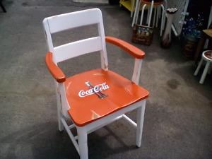 Chaise  coca cola