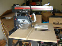 "Cutting Table & Blade Guard For 10"" Craftsman Radial Arm Saw"