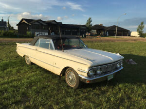 63 Comet convertible with many restorations !