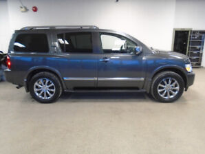 2009 INFINITI QX56 LUXURY 4X4! 8 PASS! 98,000KMS! ONLY $19,900!