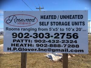 Heated/Climate Controlled Storage Units
