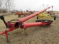 "Farm King auger 10""x50' ft stationary swing"