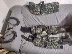 Paintball materiel air coil tippman 98rt ceinture spyder