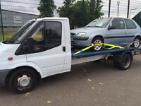 Recovery & scrap cars collected