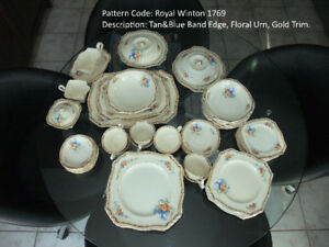 Royal Winton diner set de veselle Royal Winton