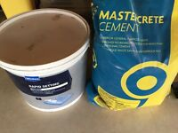 Cement rapid setting