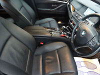 Grey BMW 5 Series 520 2.0TD Auto d SE Touring ***FROM £217 PER MONTH***