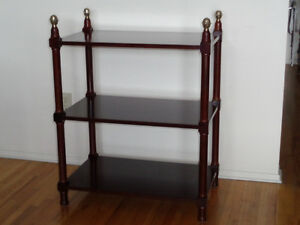 BOMBAY COMPANY SHELF TABLE