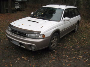 1999 Subaru Legacy LIMITED Wagon - Ready for winter!
