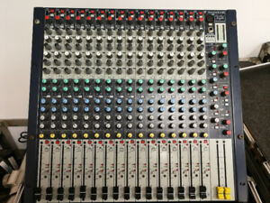 Soundcraft GB2R, 16 Channel Rack Mount Mixer