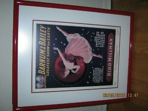 1918 Barnum and Bailey Ltd Edition Print-Frame is 26in x 20.75in