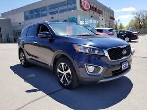 2016 Kia Sorento EX-T AWD Demo | Leater Heated Seats | Backup Ca