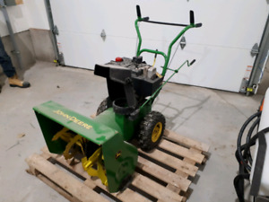 Snowblower for sale.