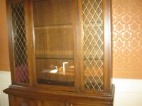 LOVELY CHINA CABINET AND HUTCH