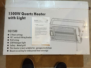 1500w Wall Mount Shop Heater