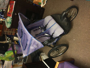 Great quality double jogging stroller.