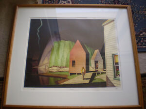 """A.J. Casson - """" Prelude """" - Limited Edition Artist Proof"""