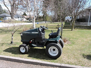Lawn tractors and mowers