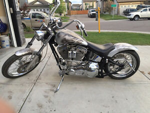 Custom built 2003 chrome horse