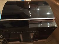 PS3 40GB Black, boxed with wireless controller