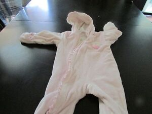 6 Month Baby Pink Snowsuit Excellent Condition