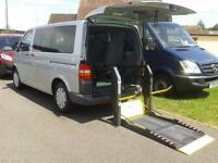 2007 VW Volkswagen Transporter Automatic Up Front Passenger Disabled Vehicle