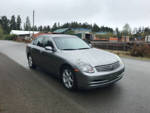 2004 Infiniti G35 4dr Sedan Luxury RWD