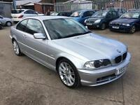 BMW 318 Ci SE COUPE + 2003 + 133K + MARCH 17 MOT