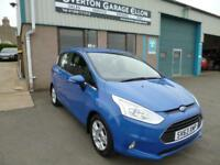 2013 Ford B-Max B-MAX1.0 ECO BOOST ZETEC Petrol blue Manual