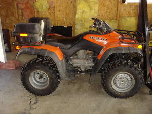 Used 2006 Honda 300cc fourtrax