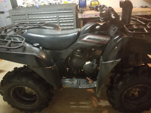 09 Brute Force 650 financing available
