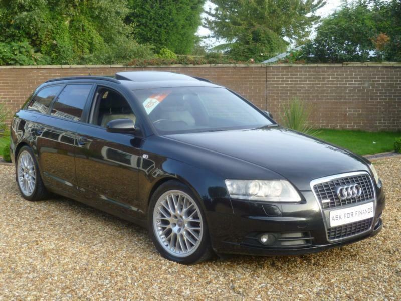 2006 audi a6 avant 2 7 tdi quattro s line auto avant paddleshift sat nav in rotherham. Black Bedroom Furniture Sets. Home Design Ideas