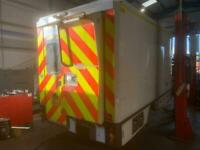 BOX BODY/EX AMBULANCE/ CAMPER/STORAGE/OFFICE CHOICE OF 10 FOR SALE