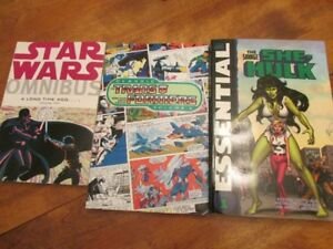 Star Wars, She-Hulk and Transformers - brand new graphic novels