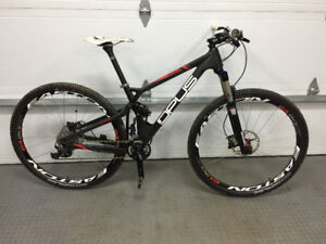Vélo opus Prime 2 carbone small xt comme neuf 29er