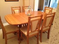 Solid Pine extendable table