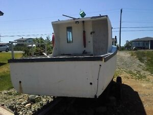 22 ft by 7 ft wide boat for sale