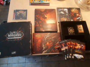 World of warcraft cataclysm collector