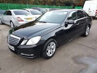 UBER READY PCO reg*Mercedes Benz E class E220 SE CDI BLUEEF-CY AUTO* LEATHER HEATED SEATS*SATNAV